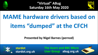 VABug.200516_03.Nigel.Barnes.(pernod).-.BBC.MAME.Hardware.drivers.dumped.at.the.CFCH