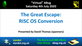 VABug.200704_04.David.Thomas.(spanners).-.The.Great.Escape.-.RISC.OS.Conversion_border